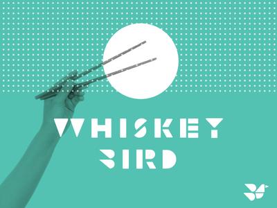 Whiskey Bird bird whiskey chopsticks japanese branding