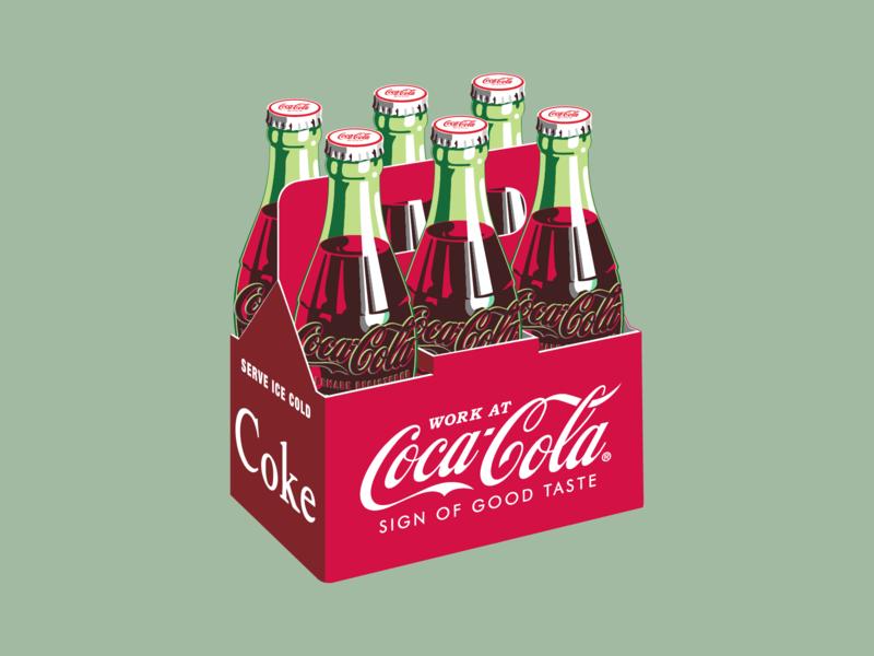 Work at Coca-Cola! branding design branding illustration atlanta jobs