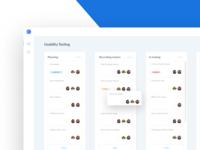 SaaS Web App Dashboard UI