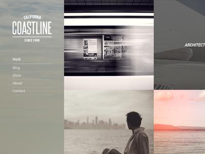 Coastline - Personal theme for WordPress wordpress pinterest woocommerce web design personal photography