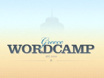 WordCamp Greece wordcamp greece photoshop texture background