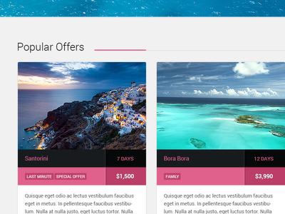 Cousteau - Travel Theme for WordPress travel web design wordpress