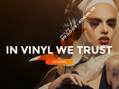 Music WordPress Theme - Oscillator gradients template web design music wordpress theme