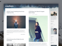 Scandinavia - Upcoming Blogging theme for WordPress