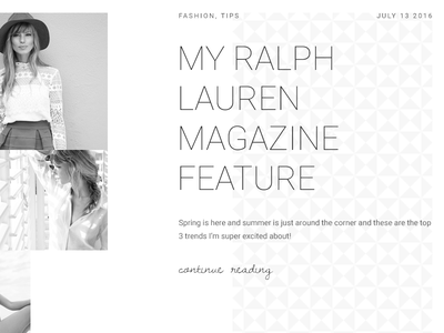Fashionist - Blogging theme for WordPress wordpress theme white black web design fashion blog