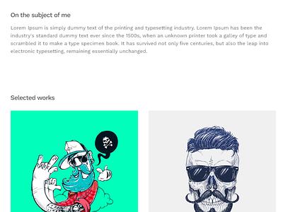HelloMouse - Portfolio Theme for WordPress minimal web design template theme portfolio wordpress