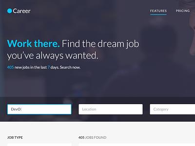 Career - Job Board WordPress Theme wp job manager web app web design cssigniter theme wordpress job board