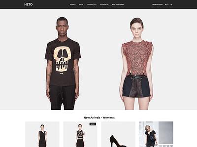 Neto - Premium WooCommerce Theme for WordPress store retail eshop woocommerce wordpress