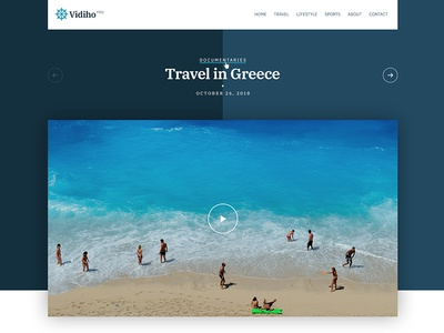 Vidiho Pro - A video theme for WordPress - Coming soon