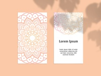 Summer Mandala Design Card 2