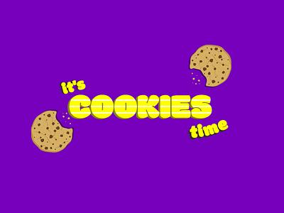 COOKIES vector illustration brand cookies