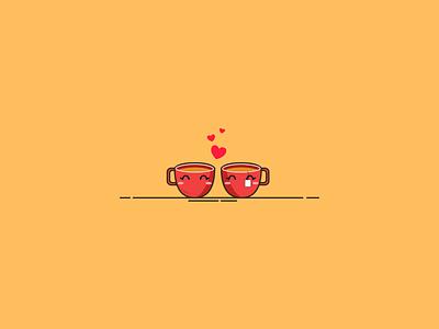 teh flat design illustration digital art vector
