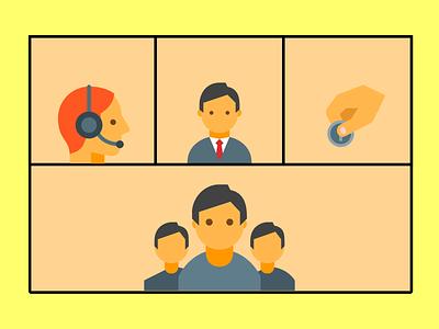 bisnis illustration design