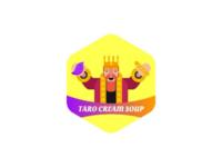 Taro cream soup logo
