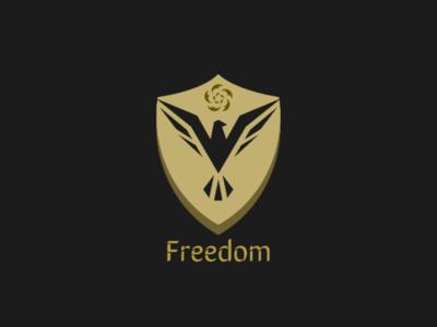 Freedom graphic design logo art