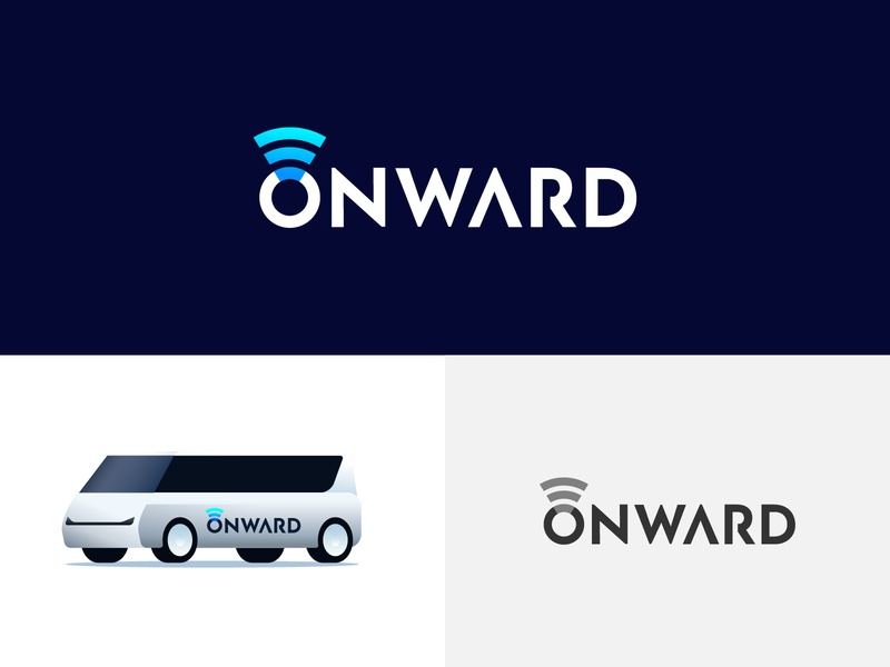 onward logo concept