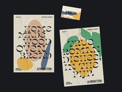Identity + posters typography website identity
