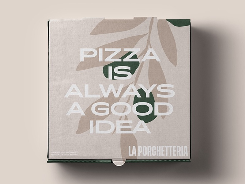 Pizza time branding design illustration typography