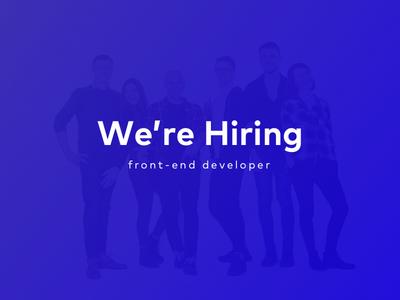 Hiring - London javascript css developer front-end developer hiring jobs