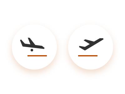 Arrivals vs Departures