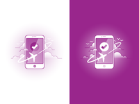WOW air on mobile