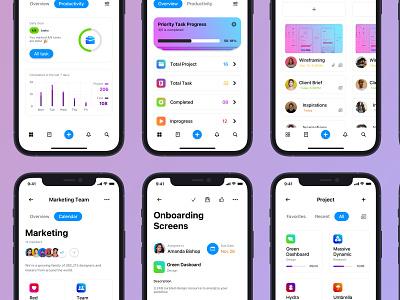Tazker App - LightMode ui