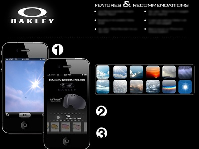 Oakley iOS App mobile app