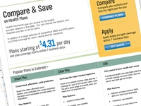 Health Plan - Landing Page Competitor