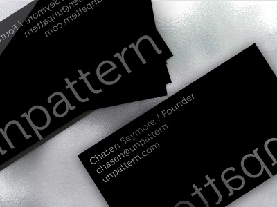 Unpattern.com Identity/Business Cards unpattern business card logo identity