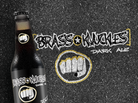 Brass Knuckles Brew Dark Ale