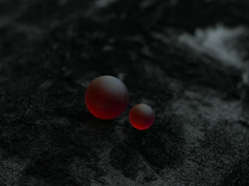 Thirst sss nature octane c4d art 3d