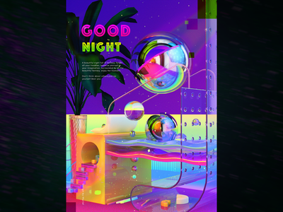 C4D - Good night