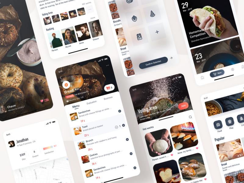 Goin-Food App food app food logo work ui design illustration