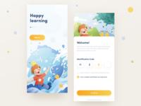 A kids' learning app