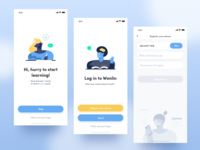 Landing page - Educational App