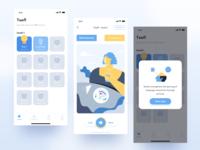 Main interface - Educational App