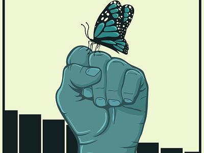 migration is beautiful hope design illustration graphic design social justice immigration