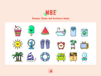MBE-Summer Theme and furniture theme