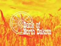 Circa 1960-1980 Bank of North Dakota Logo