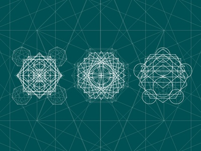 Standart Sacred Geometry geometric esoteric symbol alchemy spirituality religion illustration design background vector sacred geometry