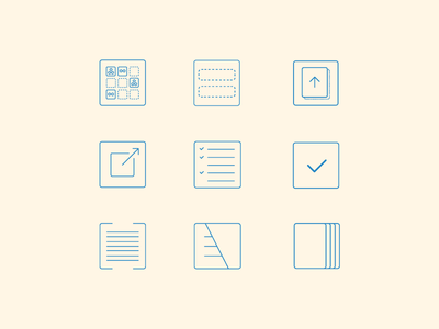 Email newsletter icon system icons illustrator