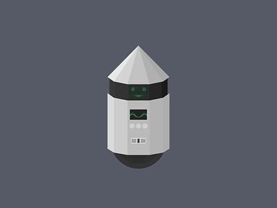 RB-7T original oc robot minimalistic cartoon inkscape illustration minimal vector svg