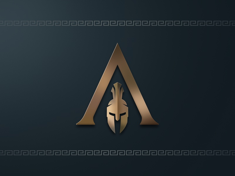 Assassin's Creed Odyssey Logo video game assassins creed minimal inkscape vector svg