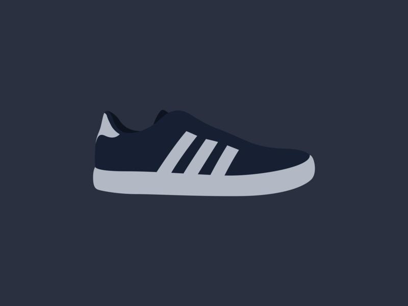 Shoe minimal illustration vector svg shoe