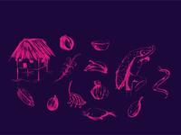 Selva illustration