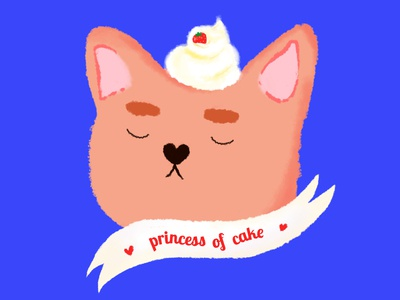 Princess of cake