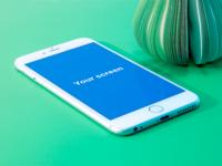 Iphone 6+. PSD Mockup