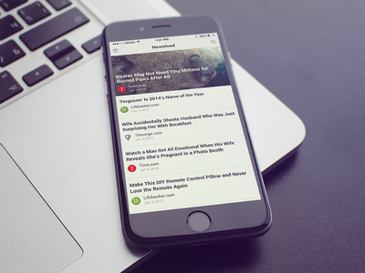 News Reader - IOS Concept
