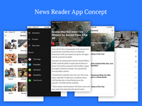 News Reader - IOS Concept