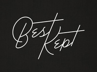 Best Kept logo design